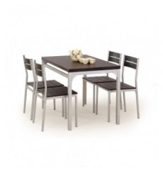 Salle à manger MALCOLM + 2 chaises wenge