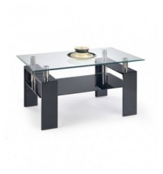 Table basse DIANA_H 110/60/55 cm noir
