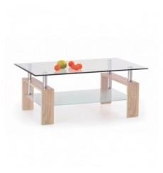 Table basse DIANA_H 110/60/55 cm chêne