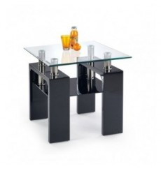 Table basse DIANA_KWADRAT_H 60/60/55 cm noir
