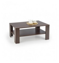 Table basse KWADRO 110/65/53 cm noyer foncé