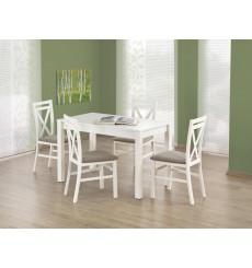 Table à manger KSAWERY 120/68/76 cm en blanc