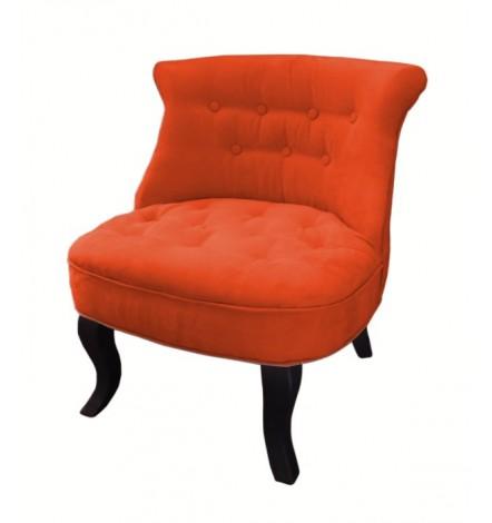 Fauteuil crapaud LOLA Orange