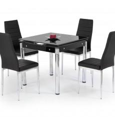Table à manger extensible KENT noir