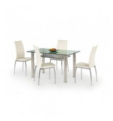 Table à manger LENART 130/80/75 cm