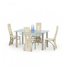 Table à manger CRISTAL 150/90/77 cm