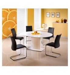 Table à manger extensible FEDERICO 120-160/120/76 cm