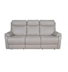 Canapé relaxe 3 place en cuir de buffle BIANCO 201 cm