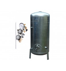Réservoir surpresseur à eau galvanisé 6 bar 150 L avec accessoires