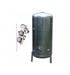 Réservoir surpresseur à eau galvanisé 9 bar 200 L avec accessoires