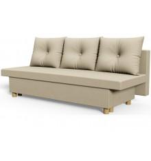 Canapé 3 places convertible NIKI 220 cm beige