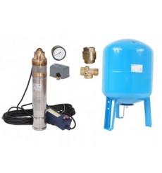 kit forage complet 100L  50 L /min à 110 M  avec accessoires