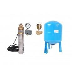 kit forage complet 100L  45 L /min à 60 M  avec accessoires