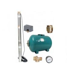 kit forage complet 50L  125 L /min à 80 M  avec accessoires