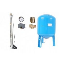 kit forage complet 100L  125 L /min à 105M  avec accessoires