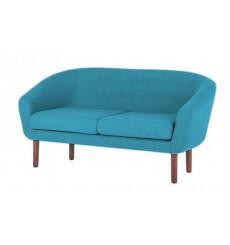 Canapé 2 places VILMA bleu 150 cm