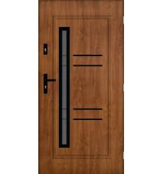 Porte d'entrée JOULINA 90 cm 72 mm en acier inoxydable en 3 couleurs