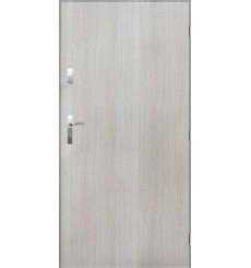 Porte d'entrée TANGO en acier inoxydable en 80 ou 90 cm