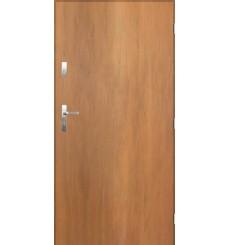 Porte d'entrée TANGO chêne doré en acier inoxydable en 80 ou 90 cm
