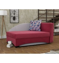 Canapé 2 places convertible SANTINA 150 cm rose