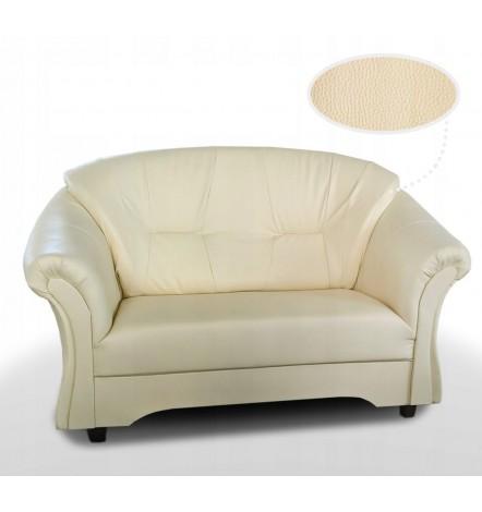 Canapé 2 places ALEX beige 143 cm
