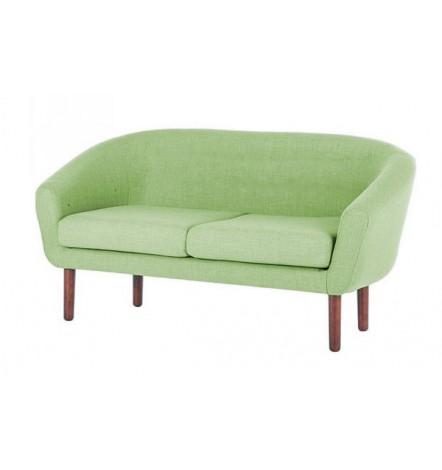 Canapé 2 places VILMA vert 150 cm