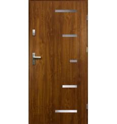 Porte d'entrée SPARTA 90 cm 55 mm en acier inoxydable en plusieurs couleurs