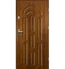 Porte d'entrée AURORE 90 cm 55 mm en acier inoxydable en 3 couleurs