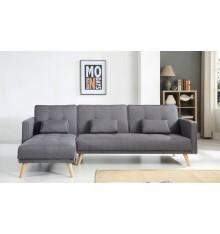 Canapé d'angle convertible ODETTE 267x151 cm