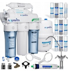 Osmoseur domestique 6 étapes de filtration RO6 AQUA VITA  à effet décontaminant
