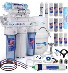 Osmoseur domestique 7 étapes de filtration RO7 wodaRO ECO à effet décontaminant