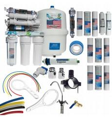 Osmoseur domestique 8 étapes de filtration RO8  à effet décontaminant