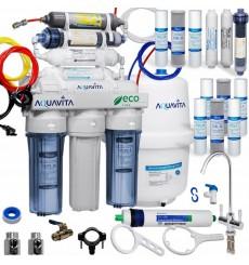Osmoseur domestique 8 étapes de filtration RO8 aqua vita  à effet décontaminant