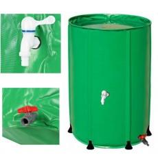 Depósito de agua de lluvia plegable de 500L