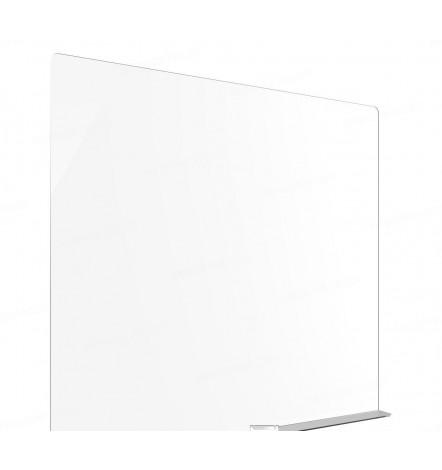Ecran de protection en Plexiglass adhésif  80x70 cm