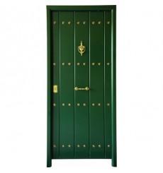 Porte d'entrée MAS rustica verts 90 cm 45 mm en acier inoxydable en plusieurs couleurs