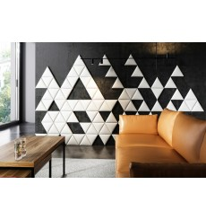 Panneau capitonné pour revêtement mural triangle 46 cm
