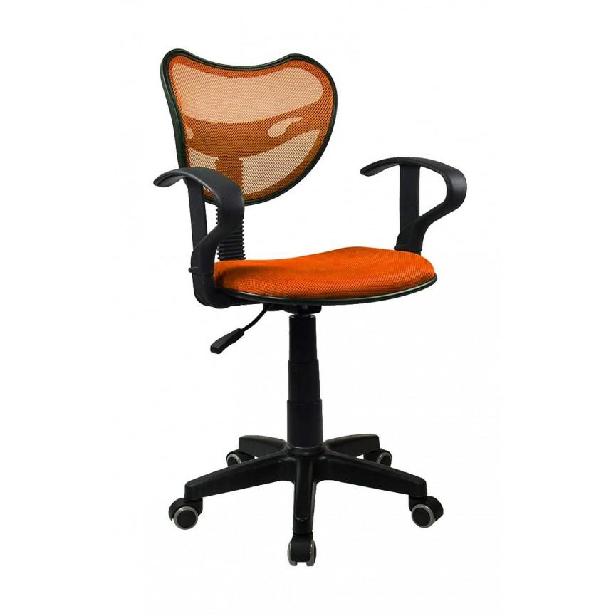 Fauteuil de bureau à roulette AJOK orange