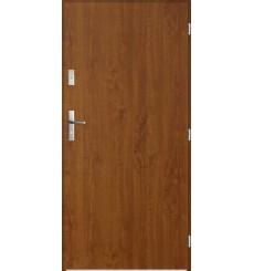 Porte d'entrée COLOMBO 80x207 cm 55 mm en acier inoxydable