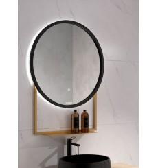 Miroir HAWAI avec tablette, lumineux à LED, plusieurs couleurs