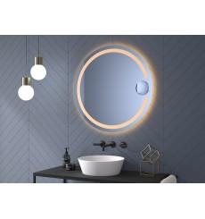 Miroir MILL rond, lumineux à LED, plusieurs dimensions