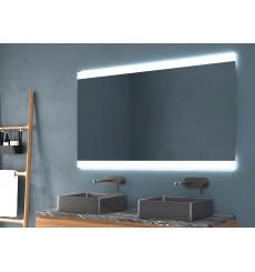 Miroir FEROE, lumière frontale LED + rétro-éclairage, plusieurs dimensions