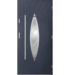 Porte d'entrée BELIAR 90x215 cm anthracite