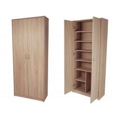 Armoire à 2 portes pour bureau 90cm x 221cm BERGEN 2