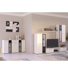 Ensemble meuble TV SALSA 59 cm en plusieurs couleurs