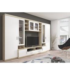 Ensemble meuble TV PARIS 340 cm en plusieurs couleurs