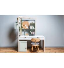 Caisson bureau NIXY blanc 39x61,5 cm blanc