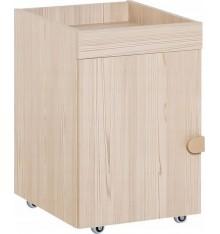 Caisson bureau NIXY blanc 39x61,5 cm chêne