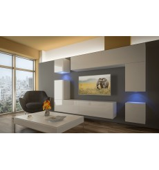 Ensemble meuble TV PRAGA en plusieurs dimensions 240/256 cm