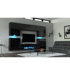 Ensemble meuble TV WEGA N37 257 cm en plusieurs couleurs